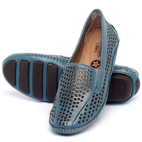 Laranja_Lima_Shoes_Sapatos_Femininos_Dockside_Laranja_Lima_Shoes_em_Couro_Azul_-_Codigo_-_136010_2