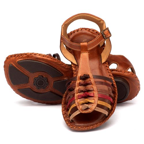 Laranja_Lima_Shoes_Sapatos_Femininos_Sandalia_Rasteira_Flat_em_Couro_Marrom_-_Codigo_-_136015_3