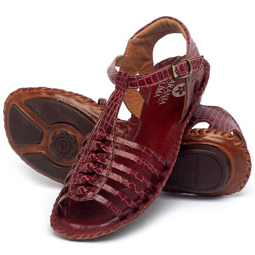 Laranja_Lima_Shoes_Sapatos_Femininos_Sandalia_Rasteira_Flat_em_Couro_Vermelho_-_Codigo_-_136015_2