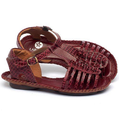 Laranja_Lima_Shoes_Sapatos_Femininos_Sandalia_Rasteira_Flat_em_Couro_Vermelho_-_Codigo_-_136015_1