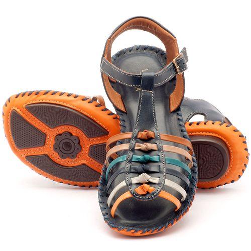 Laranja_Lima_Shoes_Sapatos_Femininos_Sandalia_Rasteira_Flat_em_Couro_Azul_-_Codigo_-_136015_2