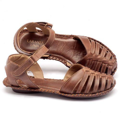 Laranja_Lima_Shoes_Sapatos_Femininos_Sandalia_Rasteira_Flat_em_Couro_Fendi_-_Codigo_-_136027_1