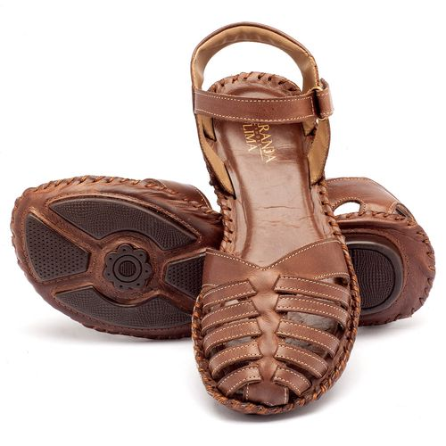 Laranja_Lima_Shoes_Sapatos_Femininos_Sandalia_Rasteira_Flat_em_Couro_Fendi_-_Codigo_-_136027_2