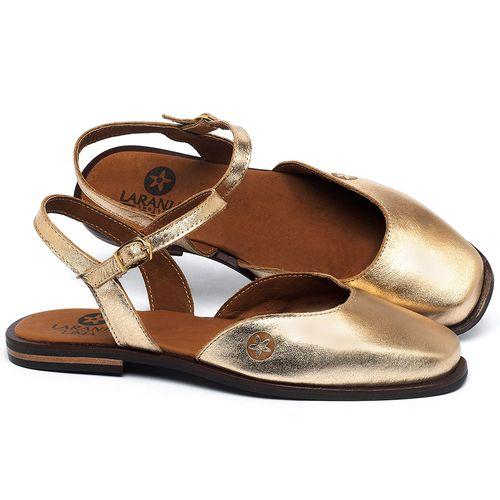 Laranja_Lima_Shoes_Sapatos_Femininos_Sapatilha_Bico_Quadrado_em_Couro_Metalizado_-_Codigo_-_136100_1
