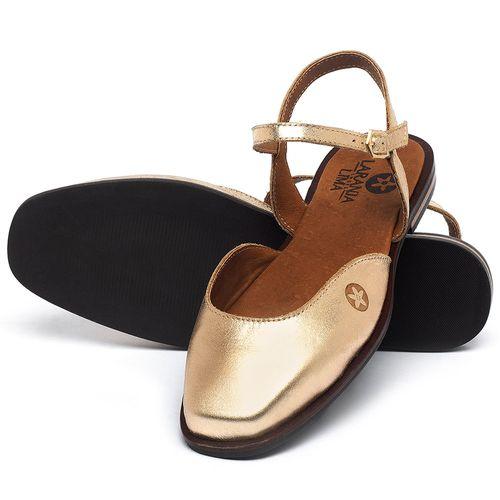 Laranja_Lima_Shoes_Sapatos_Femininos_Sapatilha_Bico_Quadrado_em_Couro_Metalizado_-_Codigo_-_136100_2