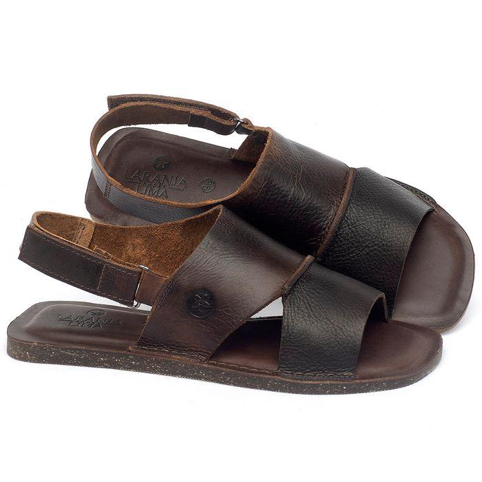 Laranja_Lima_Shoes_Sapatos_Femininos_Sandalia_Rasteira_Flat_em_Couro_Marrom_-_Codigo_-_141157_1