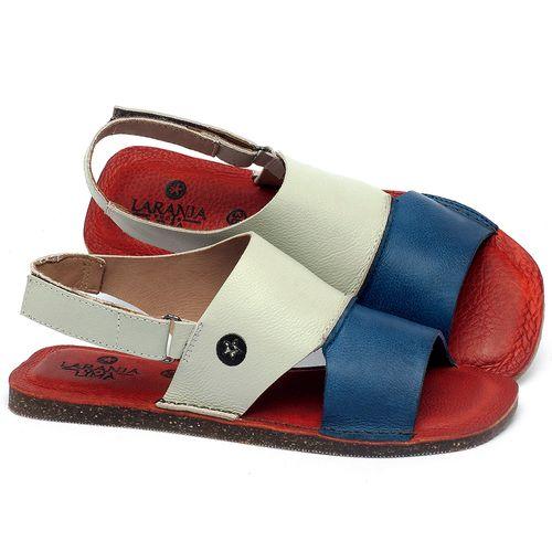 Laranja_Lima_Shoes_Sapatos_Femininos_Sandalia_Rasteira_Flat_em_Couro_Colorido_-_Codigo_-_141157_1