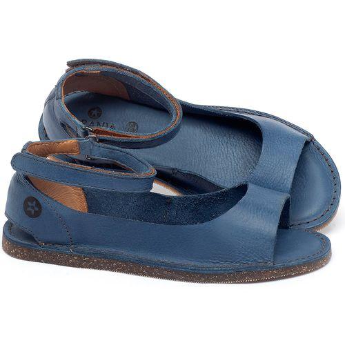 Laranja_Lima_Shoes_Sapatos_Femininos_Sandalia_Rasteira_Flat_em_Couro_Azul_-_Codigo_-_141158_1