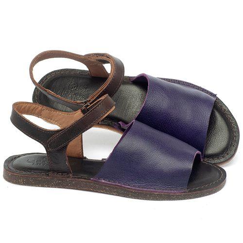 Laranja_Lima_Shoes_Sapatos_Femininos_Sandalia_Rasteira_Flat_em_Couro_Roxo_-_Codigo_-_141159_1