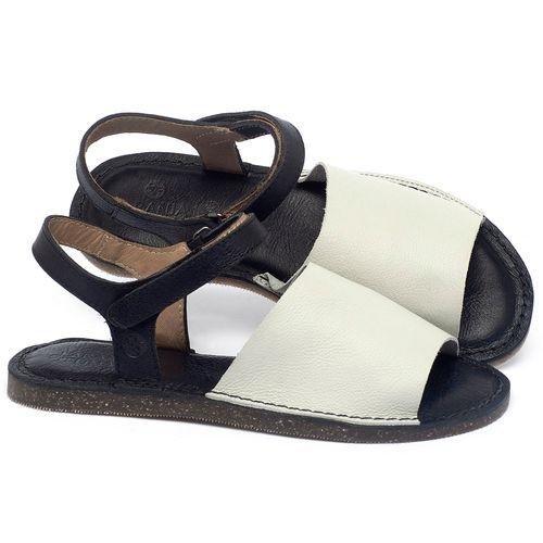 Laranja_Lima_Shoes_Sapatos_Femininos_Sandalia_Rasteira_Flat_em_Couro_Off-White_-_Codigo_-_141159_1