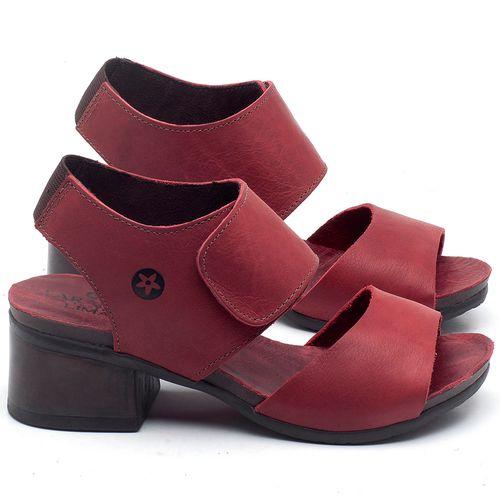 Laranja_Lima_Shoes_Sapatos_Femininos_Sandalia_Laranja_Lima_Shoes_Boho_Salto_de_5_cm_em_Couro_Vermelho_-_Codigo_-_137218_1
