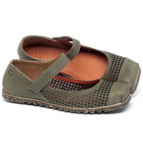 Laranja_Lima_Shoes_Sapatos_Femininos_Sapatilha_Bico_Quadrado_em_Couro_Verde_-_Codigo_-_145048_1