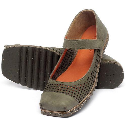 Laranja_Lima_Shoes_Sapatos_Femininos_Sapatilha_Bico_Quadrado_em_Couro_Verde_-_Codigo_-_145048_2