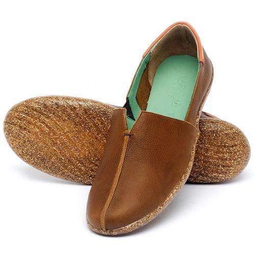 Laranja_Lima_Shoes_Sapatos_Femininos_Tenis_Cano_Baixo_em_Couro_Caramelo_-_Codigo_-_145049_2