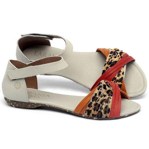 Laranja_Lima_Shoes_Sapatos_Femininos_Sandalia_Rasteira_Flat_em_Couro_Animal_Print_-_Codigo_-_148028_1