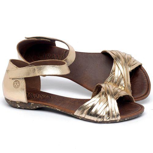 Laranja_Lima_Shoes_Sapatos_Femininos_Sandalia_Rasteira_Flat_em_Couro_Metalizado_-_Codigo_-_148028_1