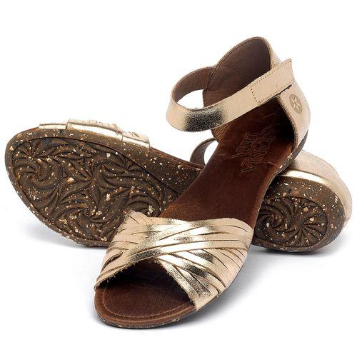 Laranja_Lima_Shoes_Sapatos_Femininos_Sandalia_Rasteira_Flat_em_Couro_Metalizado_-_Codigo_-_148028_2