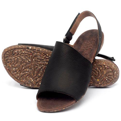 Laranja_Lima_Shoes_Sapatos_Femininos_Sandalia_Rasteira_Flat_em_Couro_Preto_-_Codigo_-_148030_2