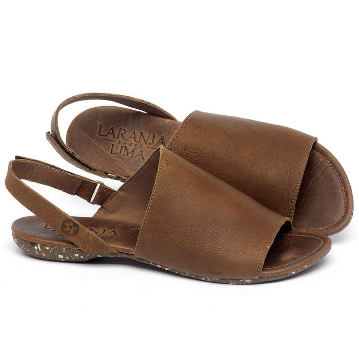 Laranja_Lima_Shoes_Sapatos_Femininos_Sandalia_Rasteira_Flat_em_Couro_Caramelo_-_Codigo_-_148030_1