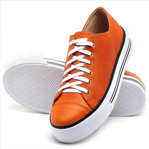 Laranja_Lima_Shoes_Sapatos_Femininos_Tenis_Cano_Baixo_em_Couro_Laranja_-_Codigo_-_9446_2