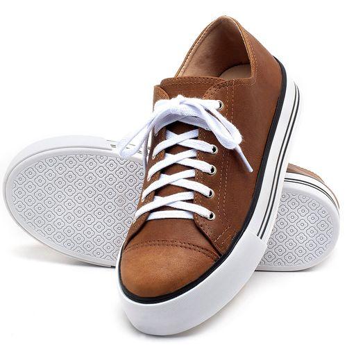 Laranja_Lima_Shoes_Sapatos_Femininos_Tenis_Cano_Baixo_em_Couro_Caramelo_-_Codigo_-_9446_2