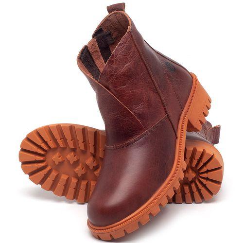 Laranja_Lima_Shoes_Sapatos_Femininos_Bota_Cano_Curto_em_Couro_Laranja_-_Codigo_-_137238_2