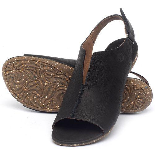 Laranja_Lima_Shoes_Sapatos_Femininos_Sandalia_Rasteira_Flat_em_Couro_Preto_-_Codigo_-_148029_2