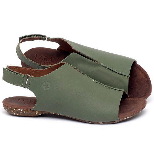 Laranja_Lima_Shoes_Sapatos_Femininos_Sandalia_Rasteira_Flat_em_Couro_Verde_-_Codigo_-_148029_1