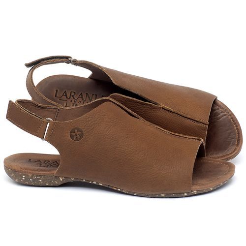 Laranja_Lima_Shoes_Sapatos_Femininos_Sandalia_Rasteira_Flat_em_Couro_Caramelo_-_Codigo_-_148029_1