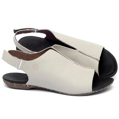 Laranja_Lima_Shoes_Sapatos_Femininos_Sandalia_Rasteira_Flat_em_Couro_Off-White_-_Codigo_-_148029_1