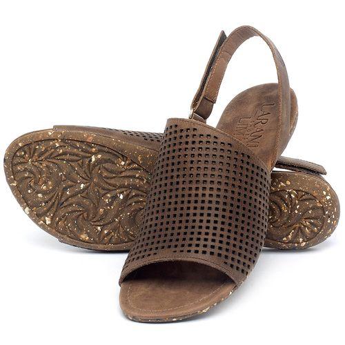 Laranja_Lima_Shoes_Sapatos_Femininos_Sandalia_Rasteira_Flat_em_Couro_Marrom_-_Codigo_-_148031_2