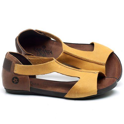 Laranja_Lima_Shoes_Sapatos_Femininos_Sandalia_Rasteira_Flat_em_Couro_Amarelo_-_Codigo_-_137186_1