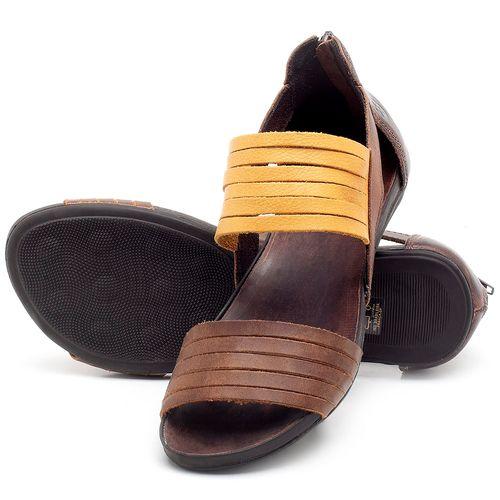 Laranja_Lima_Shoes_Sapatos_Femininos_Sandalia_Rasteira_Flat_em_Couro_Amarelo_-_Codigo_-_137190_2