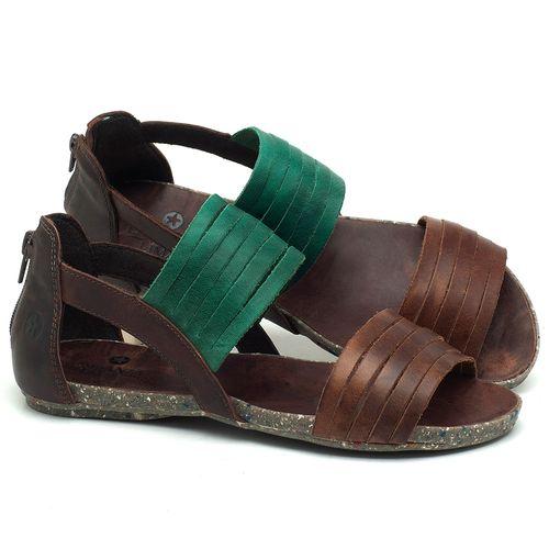 Laranja_Lima_Shoes_Sapatos_Femininos_Sandalia_Rasteira_Flat_em_Couro_Verde_-_Codigo_-_137190_1