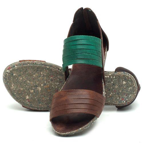 Laranja_Lima_Shoes_Sapatos_Femininos_Sandalia_Rasteira_Flat_em_Couro_Verde_-_Codigo_-_137190_2