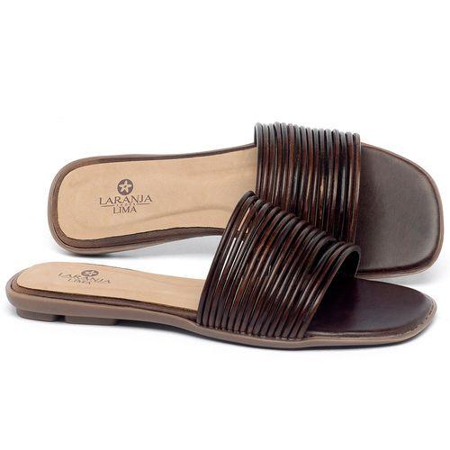 Laranja_Lima_Shoes_Sapatos_Femininos_Sandalia_Rasteira_Flat_em_Couro_Marrom_-_Codigo_-_9480_1