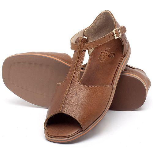 Laranja_Lima_Shoes_Sapatos_Femininos_Sandalia_Rasteira_Flat_em_Couro_Caramelo_-_Codigo_-_3056_2