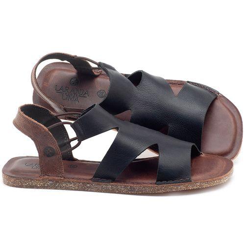 Laranja_Lima_Shoes_Sapatos_Femininos_Sandalia_Rasteira_Flat_em_Couro_Preto_-_Codigo_-_141110_1