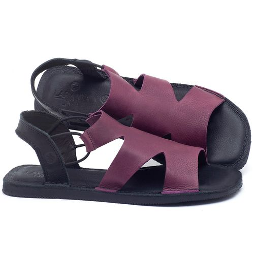 Laranja_Lima_Shoes_Sapatos_Femininos_Sandalia_Rasteira_Flat_em_Couro_Roxo_-_Codigo_-_141110_1