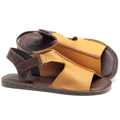 Laranja_Lima_Shoes_Sapatos_Femininos_Sandalia_Rasteira_Flat_em_Couro_Amarelo_-_Codigo_-_141111_1