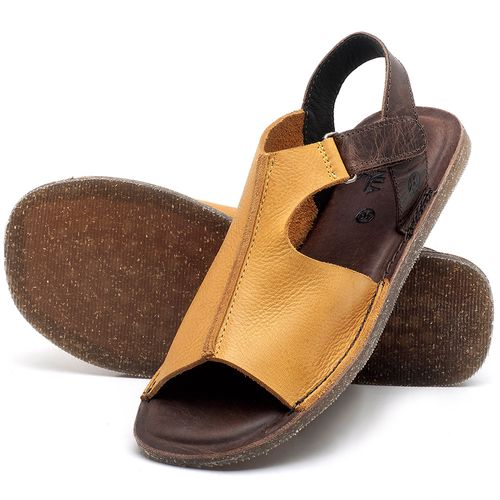 Laranja_Lima_Shoes_Sapatos_Femininos_Sandalia_Rasteira_Flat_em_Couro_Amarelo_-_Codigo_-_141111_2
