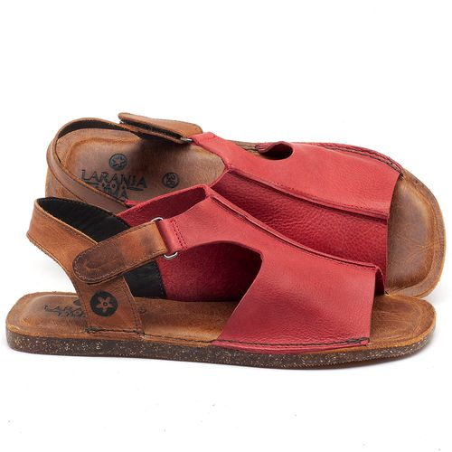 Laranja_Lima_Shoes_Sapatos_Femininos_Sandalia_Rasteira_Flat_em_Couro_Vermelho_-_Codigo_-_141111_1