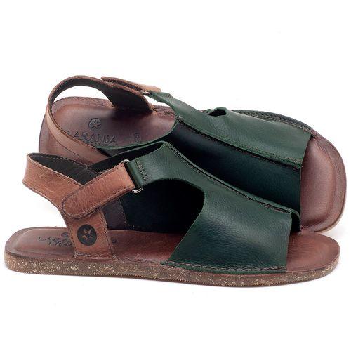Laranja_Lima_Shoes_Sapatos_Femininos_Sandalia_Rasteira_Flat_em_Couro_Verde_-_Codigo_-_141111_1