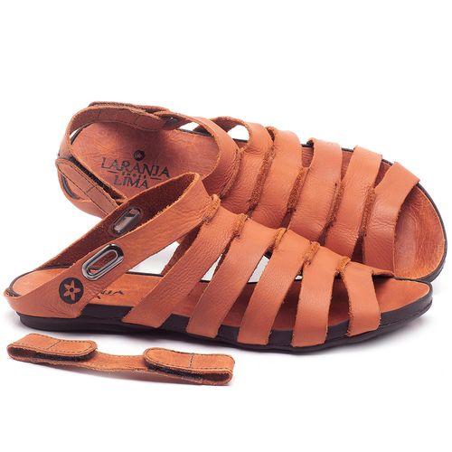 Laranja_Lima_Shoes_Sapatos_Femininos_Sandalia_Rasteira_Flat_em_Couro_Laranja_-_Codigo_-_137196_1