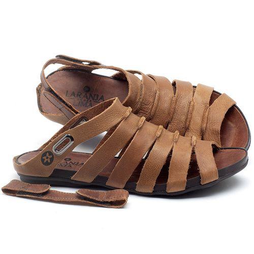 Laranja_Lima_Shoes_Sapatos_Femininos_Sandalia_Rasteira_Flat_em_Couro_Marrom_-_Codigo_-_137196_1