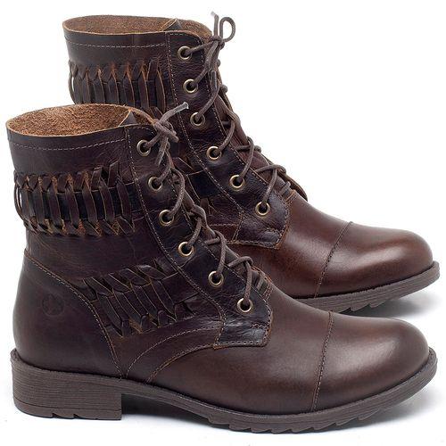 Laranja_Lima_Shoes_Sapatos_Femininos_Bota_Cano_Curto_em_Couro_Marrom_-_Codigo_-_56080_1