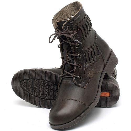 Laranja_Lima_Shoes_Sapatos_Femininos_Bota_Cano_Curto_em_Couro_Marrom_-_Codigo_-_56080_2