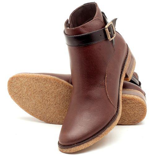 Laranja_Lima_Shoes_Sapatos_Femininos_Bota_Cano_Curto_em_Couro_Marrom_-_Codigo_-_56162_2