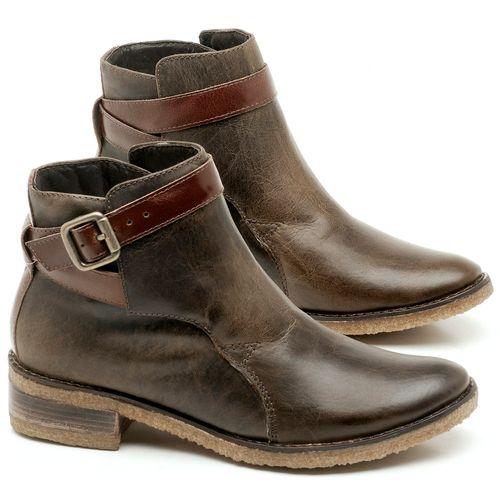 Laranja_Lima_Shoes_Sapatos_Femininos_Bota_Cano_Curto_em_Couro_Marrom_-_Codigo_-_56162_1