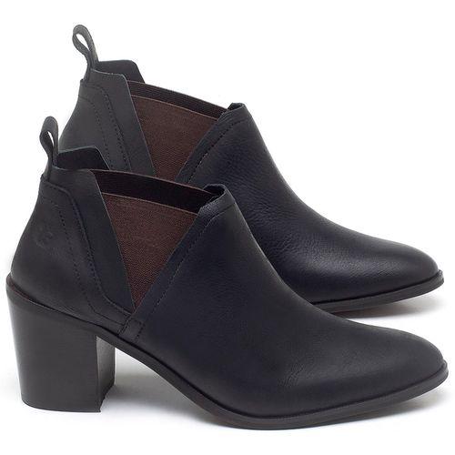 Laranja_Lima_Shoes_Sapatos_Femininos_Bota_Cano_Curto_Salto_de_75_cm_em_Couro_Preto_-_Codigo_-_56194_1